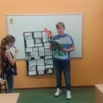 Uczniowie MSPEI prezentują projekt
