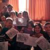 Lekcja plastyczna w MSPEI w Łodzi