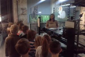 Wizyta uczniów w laboratorium