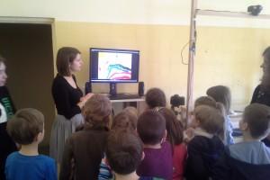 Wizyta uczniów podstawówki w Semaforze