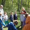 Uczniowie MSPEI na zielonej szkole
