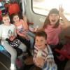 Podróż uczniów pociągiem