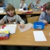 Uczniowie szkoły podstawowej w Łodzi.