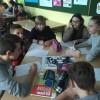 Praca w grupach podczas lekcji w MSPEI w Łodzi