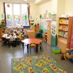 Sala w międzynarodowej szkole w Łodzi
