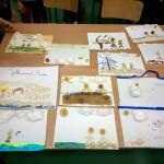 Prace plastyczne uczniów szkoły edukacji innowacyjnej w łodzi