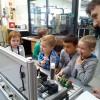 Wizyta uczniów podstawówki na Politechnice Łódzkiej.