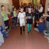 Pokaz mody uczniów podstawówki MSPEI w Łodzi