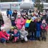 Uczniowie szkoły podstawowej MSPEI w Łodzi