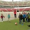 Wizyta uczniów na stadionie Widzewa Łódź