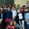 Uczniowie klasy V MSPEI w Łodzi