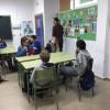 Lekcje w szkole podstawowej w Łodzi