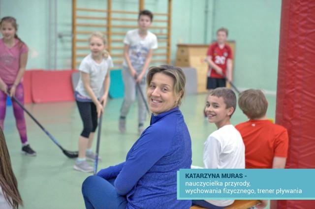 Katarzyna Muras nauczycielka MSEPI w Łodzi