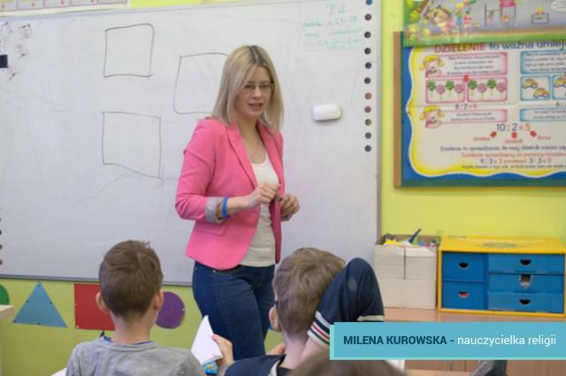 Milena Kurowska nauczycielka MSPEI w Łodzi