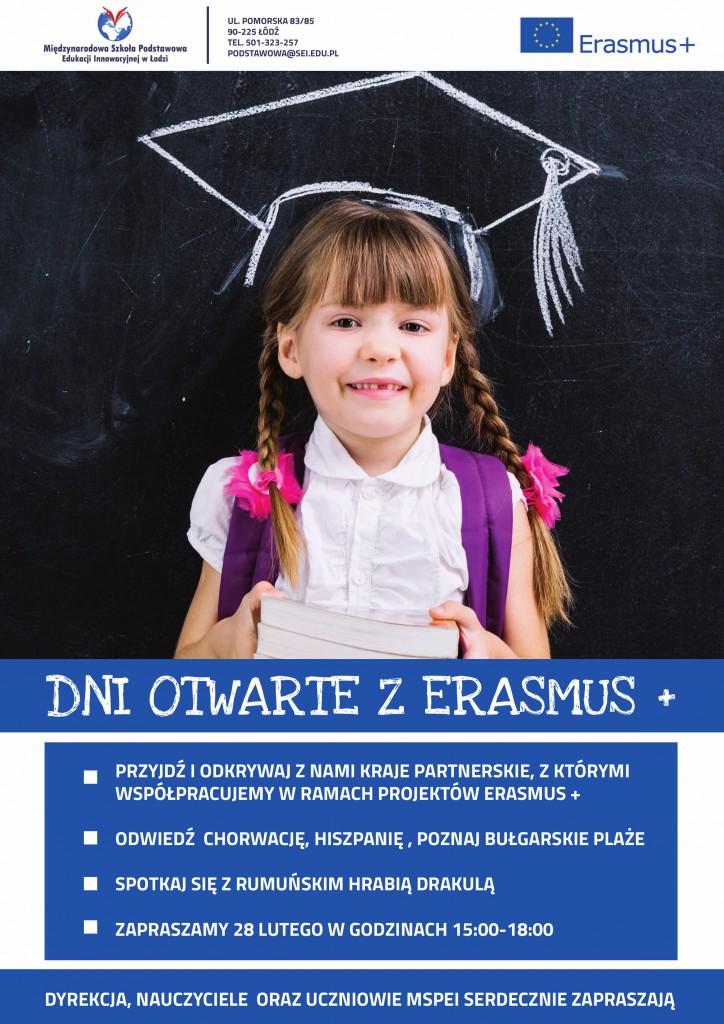 Dni otwarte z Erasmus w MSPEI w Łodzi