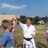 Warsztaty karate podczas Family Dat