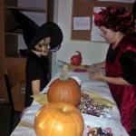 Zabawa halloweenowa w szkole podstawowej
