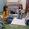Uczniowie szkoły podstawowej w Łodzi