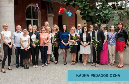 Kadra Pedagogiczna MSPEI w Łodzi.