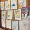 Prace plastyczne uczniów prywatnej szkoły podstawowej